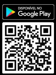 QR code e botão Play Store