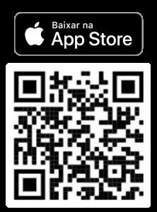 QR code e botão App Store